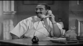 Groucho as veterinarian posing as Head Psychiatrist