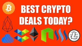 BEST CRYPTO DEALS TODAY?