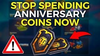 SAVE COINS - Free Tank For Anniversary Coins!? | World of Tanks 10th Birthday - Update 1.10
