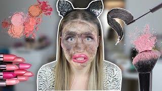 Ich benutze JEDES Make Up Produkt , dass ich besitze !! ( über 1000 😨 ) | Bibi