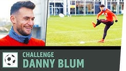 Freistoß-Challenge vs. Danny Blum | Eintracht Frankfurt |Fußball-Challenge |Kickbox