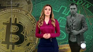 Golpista do Bitcoin Marlon Gonzalez no Domingo Espetacular da TV Record