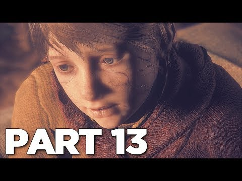 A PLAGUE TALE INNOCENCE Walkthrough Gameplay Part 13 - CURE (PS4 Pro)