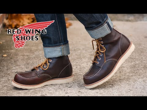My Red Wing 8138 Moc Toe First Look + On Feet