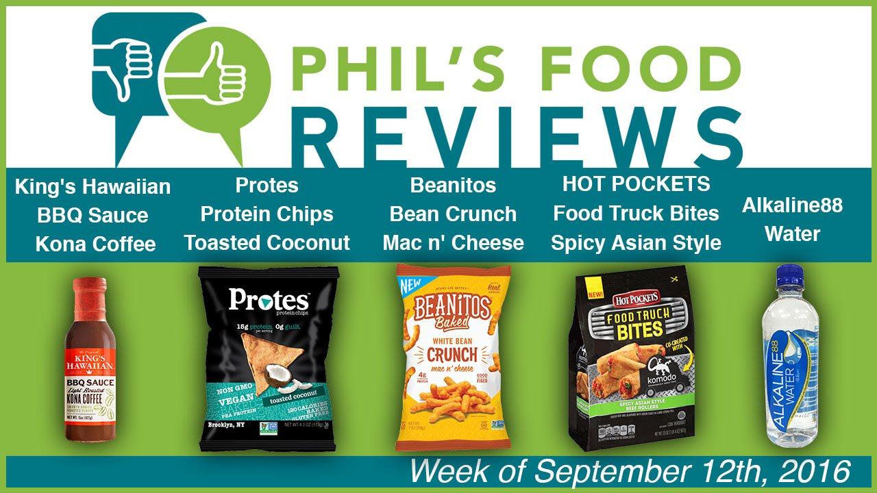 Phil's Food Reviews for Sept  12, 2016   Progressive Grocer