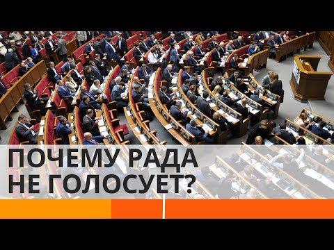 Почему Верховная Рада не проголосовала за отставку министров? - Утро в Большом Городе