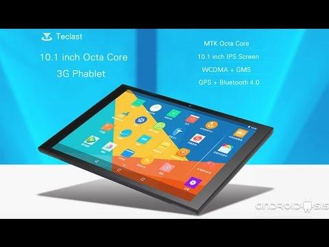 Análisis de la Teclast X10 3G, Tablet Android 3G por menos de 100 euros
