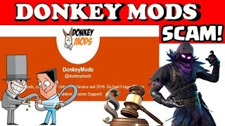 "❌ATTENTION SCAM! ""Unlock All Service by Donkey"" is Scam!😡 (Fortnite Scam Enlightenment)"