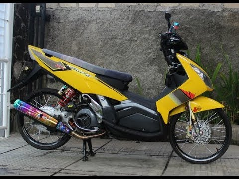 Kumpulan Modifikasi Yamaha Nouvo Z Thailook Style Youtube