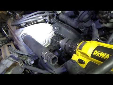 Oil Leak? DRILL it out! (Toyota Camry) + Timing Belt & EGR repair