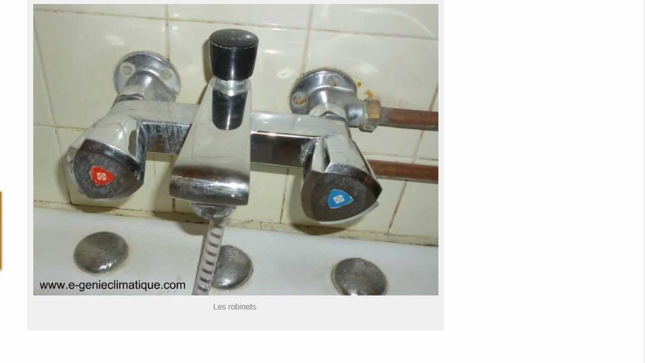 plomberie08 changement d une tete ceramique d un robinet melangeur