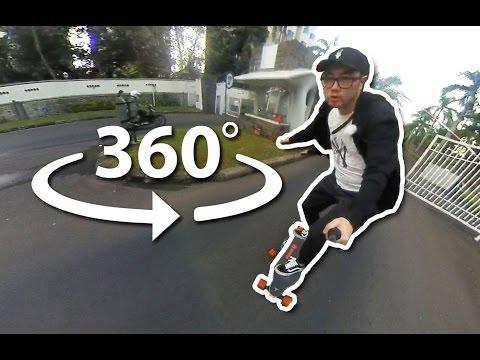 360 VR Electric Boosted Board Di Jakarta Utara Dengan Brica Insta360 Nano