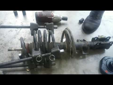 Volvo S80 Suspension Rebuild:  Strut, Control Arm, and Ball Joint Replacement