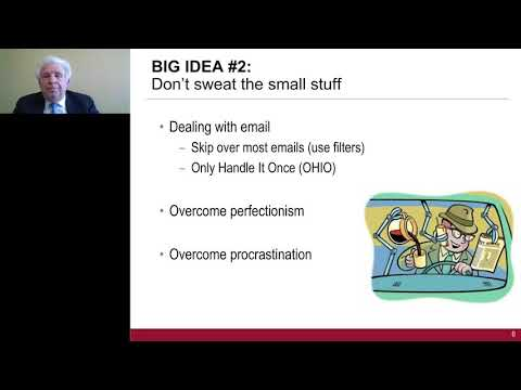 Get More Done in Less Time: 3 Big Ideas for Extreme Productivity with Bob Pozen