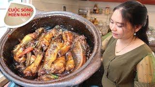 Kho tộ 5 loại cá bống (chị Sơn Ca) #namviet