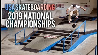 The 2019 National Skateboard Championships