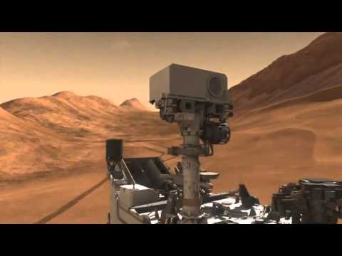 Missione Curiosity su Marte: video completo
