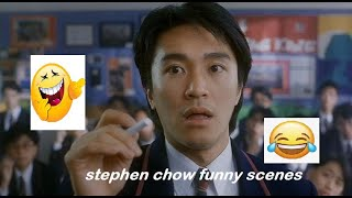 stephen chow| movie funny scenes|fight back to school