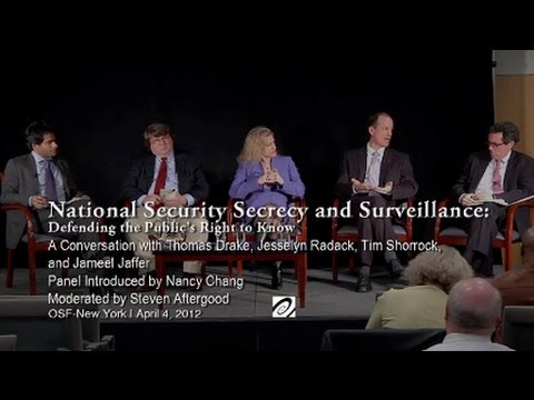 National Security Secrecy and Surveillance: Defending the Public's Right to Know
