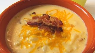 Betty's Slow Cooker Loaded Baked Potato Soup