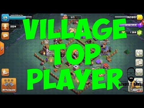 Village ouvrier Clash of clans top player