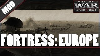 Men of War: Assault Squad 2 - Fortress: Europe (MOD)