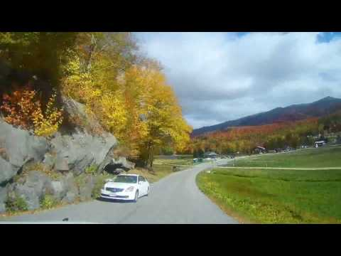 Timelapse of Driving the Mount Washington Auto Road