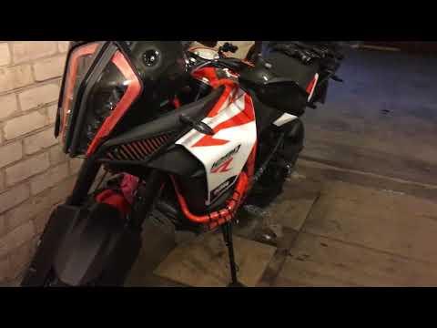 KTM 1290 Super Adventure R crash bar mod