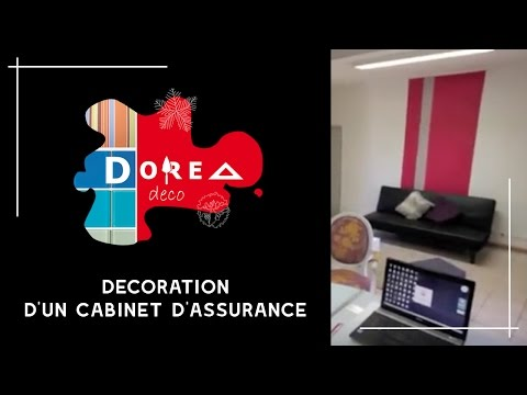 d co d 39 int rieur au professionnel merchandising d 39 un cabinet d 39 assurance au f minin par dorea. Black Bedroom Furniture Sets. Home Design Ideas