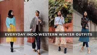 Everyday INDO- WESTERN WINTER Outfit Options  SONIA GARG