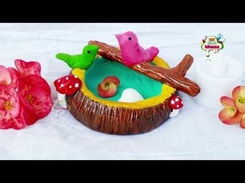 bird feeder diy  #bird craft, bird craft ideas # bird nest craft, paper craft, DIY Craft Ideas