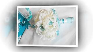 свадебный брошь букет