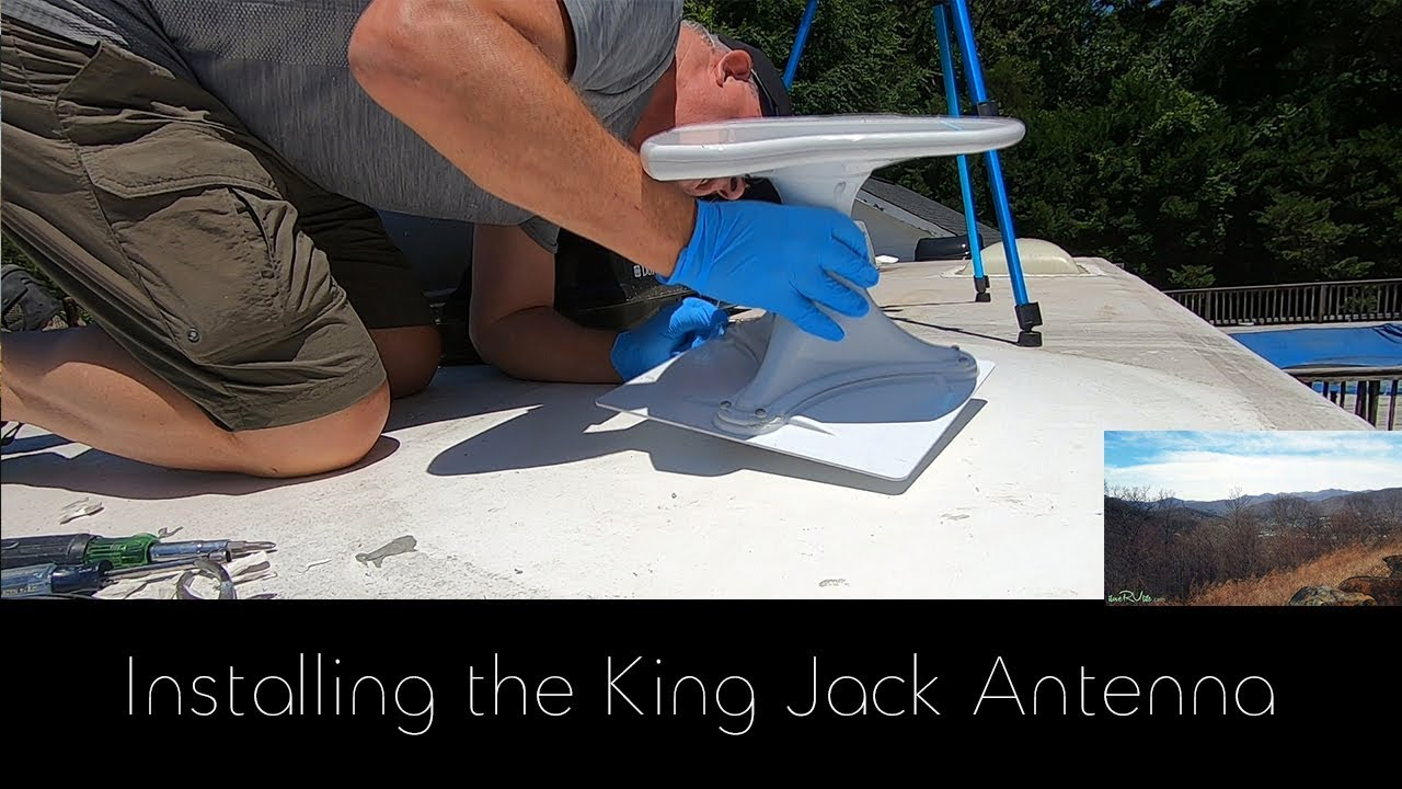 how to install jack rv antenna