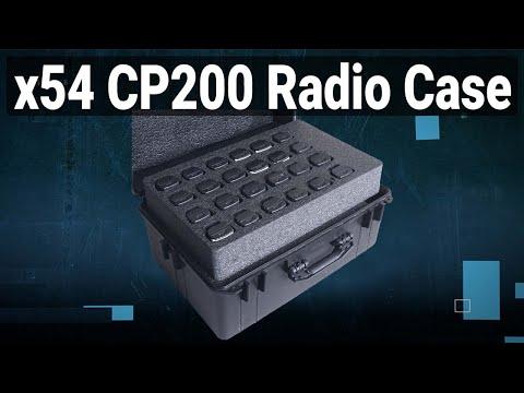 54 Motorola CP200 Radio Case - Video
