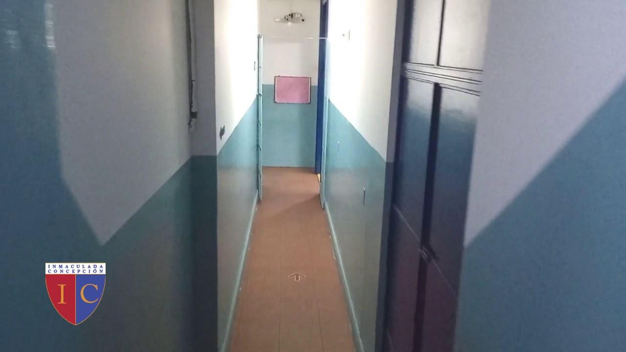 Vuelta al Cole!!! Te mostramos el circuito para caminar hacia las aulas y salir del colegio