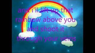 Rainbow Veins-Owl City-LYRICS