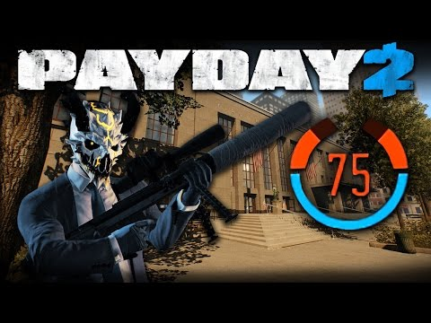 First World Bank - 75 Detection Risk (Payday 2 DW Solo Stealth)