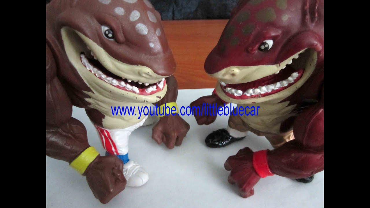 Street Sharks Toys : Street sharks toy original slammu series and