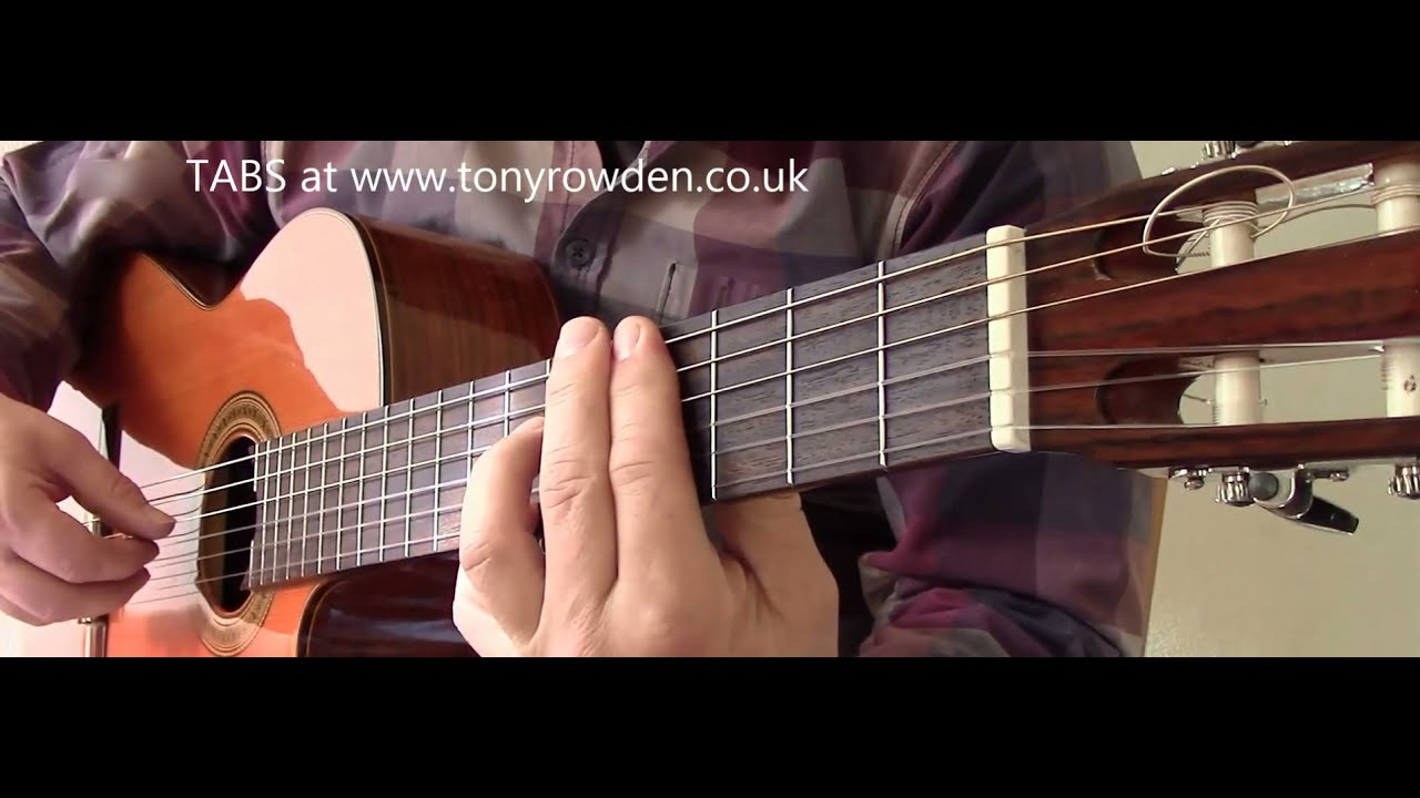 Daydream Believer Free Tab Monkees Fingerstyle Guitar Cover Youtube