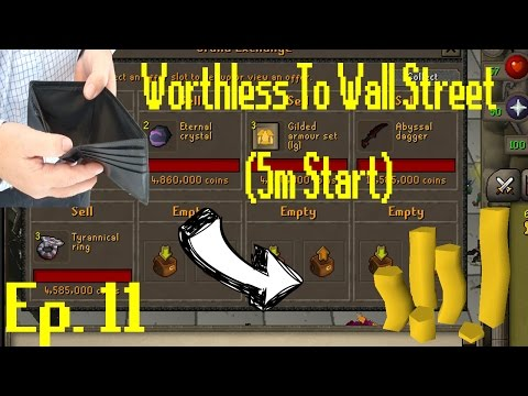 Worthless to Wall Street Ep 11!! OMG BIGGEST FLIPS YET!! [OSRS Merching] [5M Start]