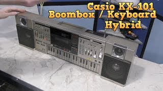 Casio KX-101 Bizarre Boombox/Keyboard hybrid