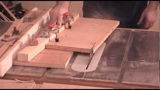 Build A Taper Jig For The Table Saw