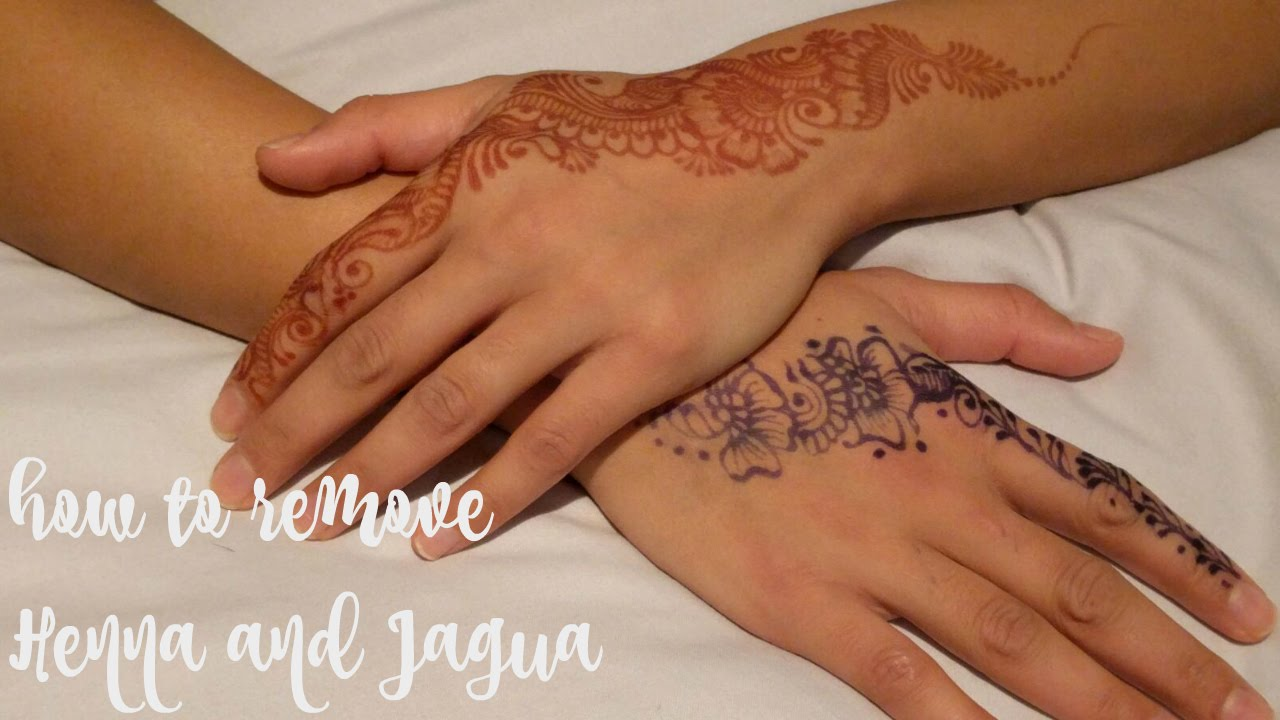 Top 7 tips on how to remove henna and jagua stains from the skin  mehndi  farrah  YouTube