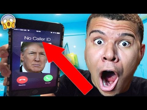 5 CALLING DONALD TRUMP!! HE ACTUALLY ANSWERED OMG!! Videos