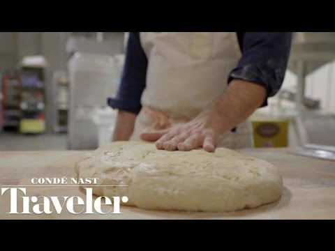 Roman Pizza Tour in New York: Part 3 with Katie Parla at Brooklyn Bread Lab in Bushwick
