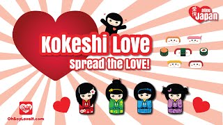 Kokeshi Love Coming Soon Aijou Japan