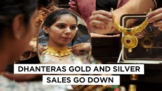 Pre-Diwali Gold, Silver Sales Down by 40% | Dhanteras Loses Sheen