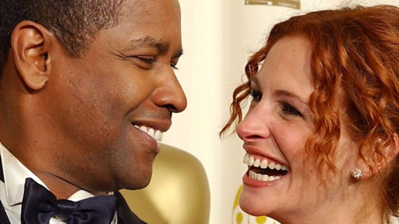 The Reason Denzel Washington Refused To Kiss Julia Roberts