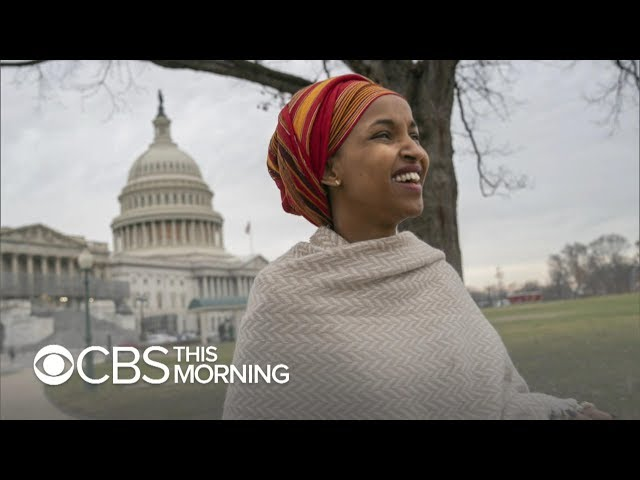 """Rep. Ilhan Omar of Minnesota makes history, says U.S. \""""could do better\"""""""
