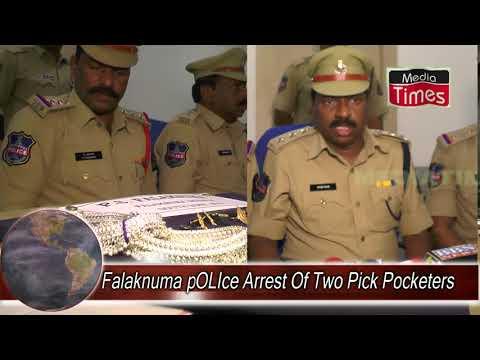 Falaknuma Police Arrest Of Two Pick Pocketers